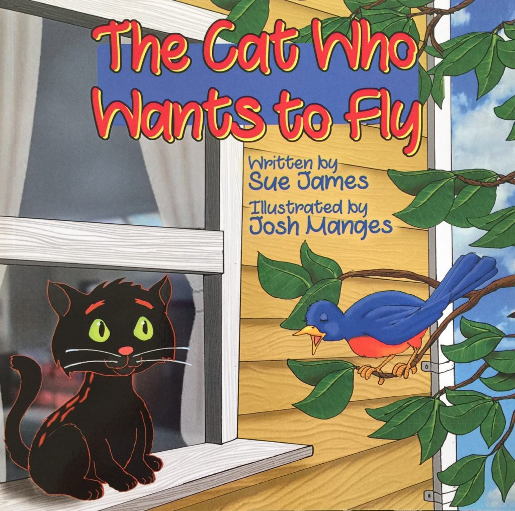Book Cover for The Cat Who Wants to Fly